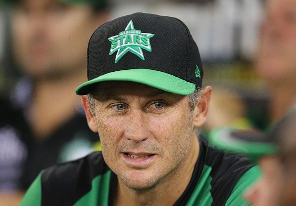 Melbourne Stars name David Hussey as their captain