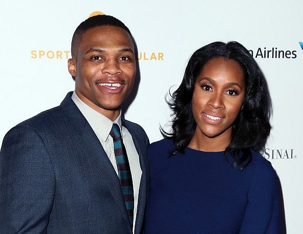 NBA Superstar Russell Westbrook ties knot with his college sweetheart
