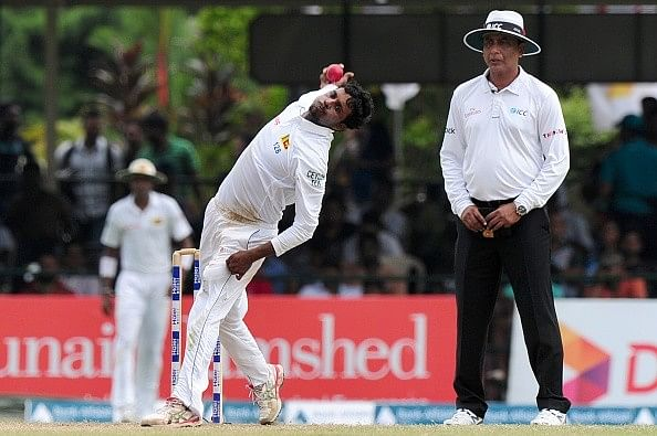 ICC bans Tharindu Kaushal from bowling the 'Doosra'