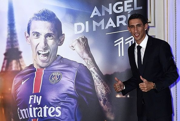PSG's Angel Di Maria reveals why Louis van Gaal was the reason he left Manchester United