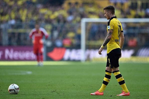 Reports: Manchester United missed out on Borussia Dortmund's Marco Reus
