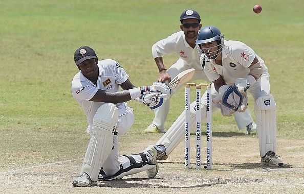 Stats: India end 22-year Lankan drought while Angelo Mathews scores a century in vain