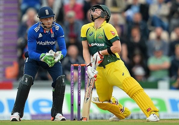Best Pictures from the 1st ODI between England and Australia