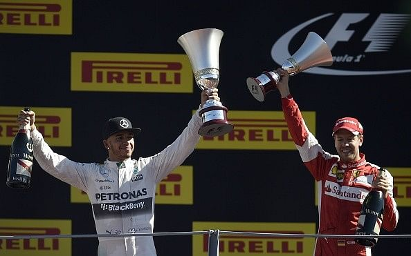 Lewis Hamilton keeps victory at the Italian Grand Prix following investigation