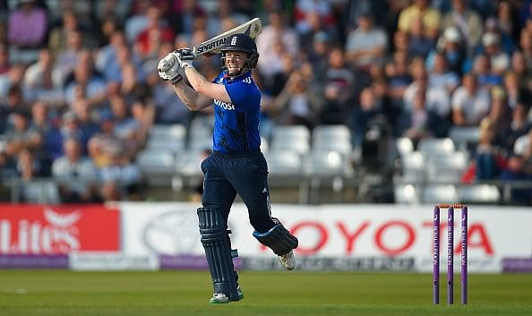 Eoin Morgan - Highest number of sixes by a player for England in ODIs