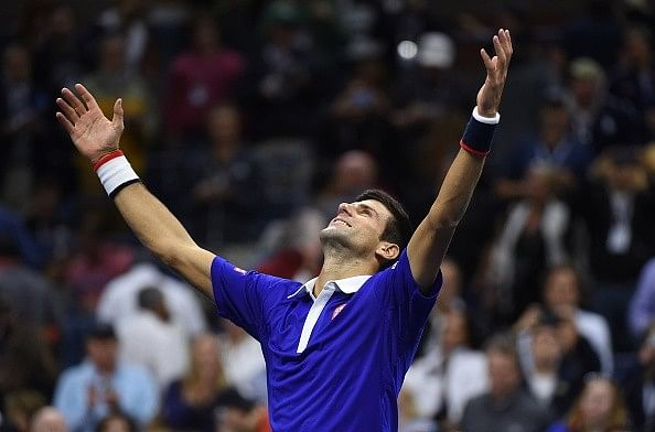 Novak Djokovic says he is looking forward to beating Federer's Grand Slam tally