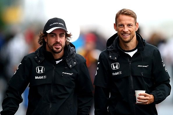 Ron Dennis says Alonso and Button will stay, no confirmation from drivers