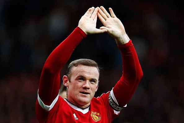 Wayne Rooney says he never handed in a transfer request at Manchester United