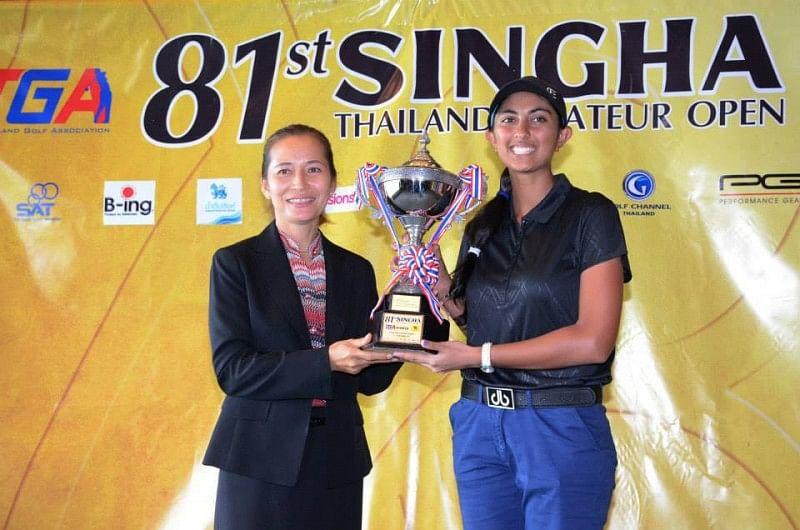 Aditi Ashok wins Singha Thailand Amateur Championship