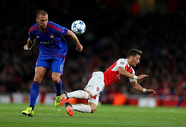 Player Ratings: Arsenal 2-3 Olympiacos