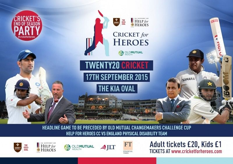 MS Dhoni, Brendon McCullum, Brian Lara and other legends to play in charity T20 match in September