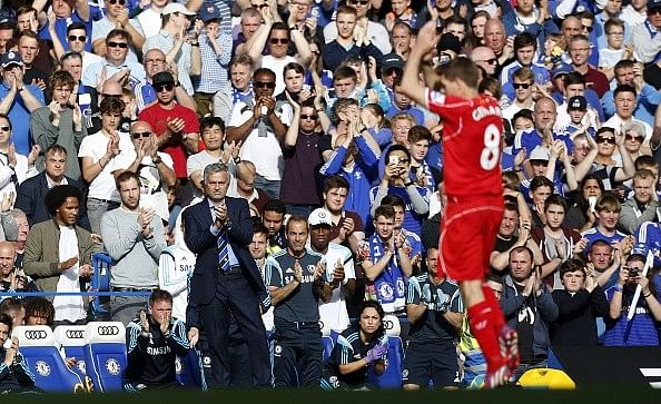 Chelsea boss Jose Mourinho dismisses Steven Gerrard's claims of rift with John Terry
