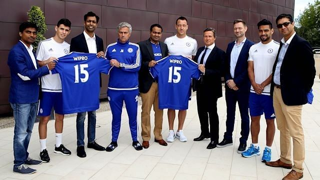 Chelsea announce digital partnership with Indian IT giants Wipro