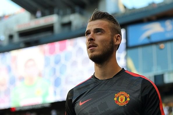 David de Gea included in Manchester United's Champions League squad