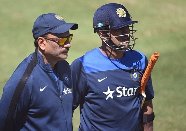'All-time great' Dhoni backed by Shastri to succeed against the Proteas