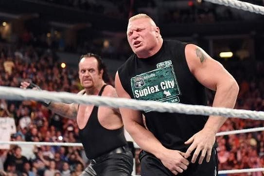 Backstage news on Vince wanting to end Lesnar vs Taker feud at Hell In A Cell
