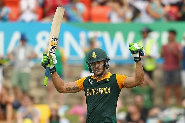 Faf du Plessis eyeing T20 series against India as build up to 2016 World T20