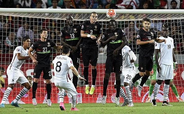 Highlights: Mathieu Valbuena's brilliant free kick gives France 1-0 win over Portugal
