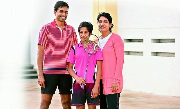 Pullela Gopichand's daughter becomes youngest shuttler to represent India