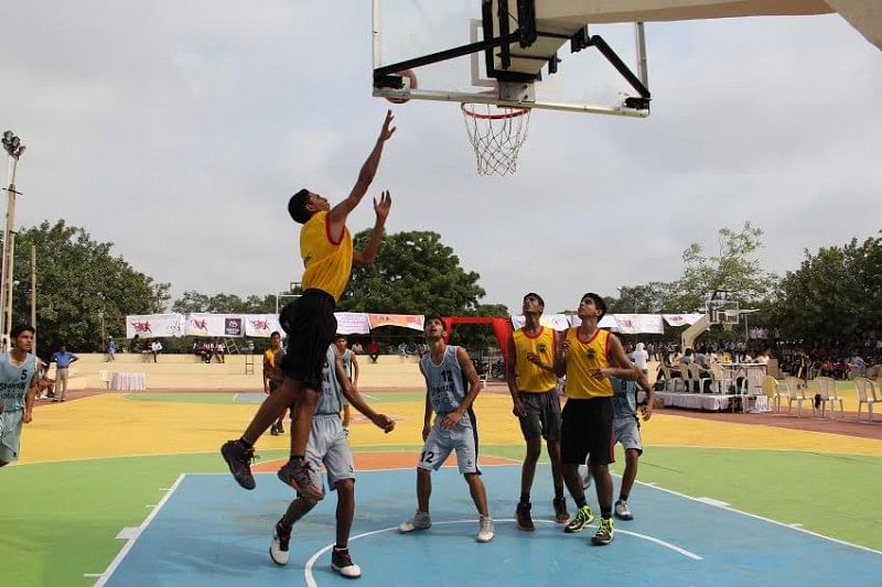 32nd Youth National Basketball Championship tips off in Bhavnagar