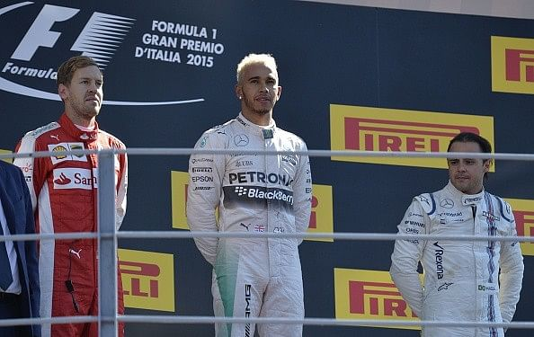 Italian Grand Prix 2015: Lewis Hamilton takes second victory in a row