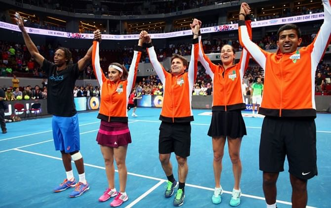 IPTL 2015: Back to win the cup  - the Micromax Indian Aces!