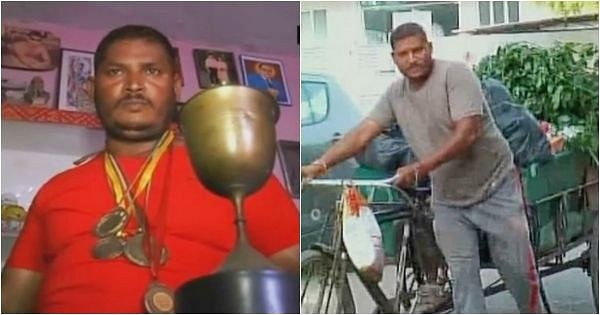 State-level former boxer Kamal Kumar forced to work as a garbage collector