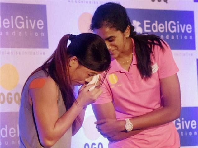 Mary Kom breaks down during an event, alleges regional bias in selection