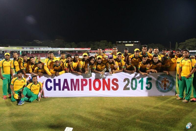 Bijapur Bulls are the champions of Karbonn KPL 2015