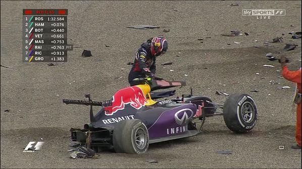 VIDEO: Red Bull's Daniil Kvyat left with half a car in biggest crash of his career at Japanese GP