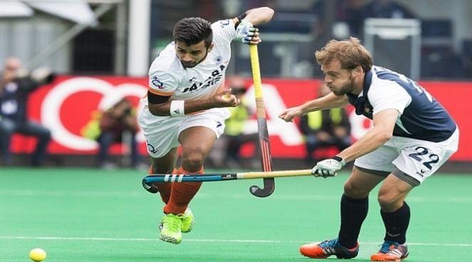 Indian hockey midfielder Manpreet Singh working hard for New Zealand tour