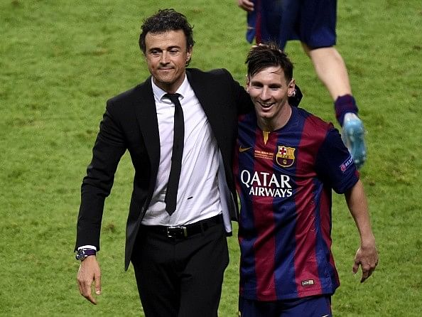 Barcelona will play the same way without Messi says Luis Enrique