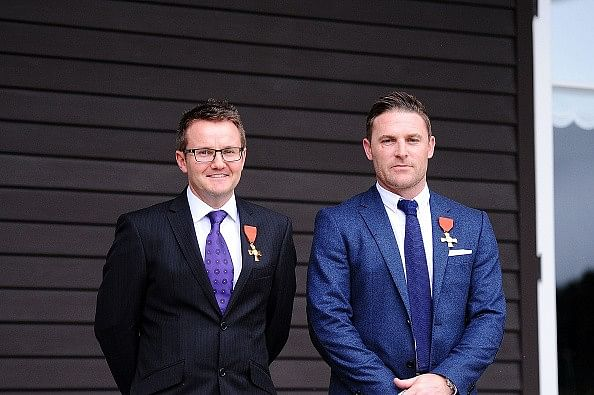 Brendon McCullum made Officer of the New Zealand Order of Merit for his services to cricket