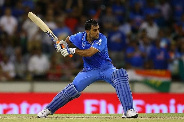 Why MS Dhoni should bat at No.4
