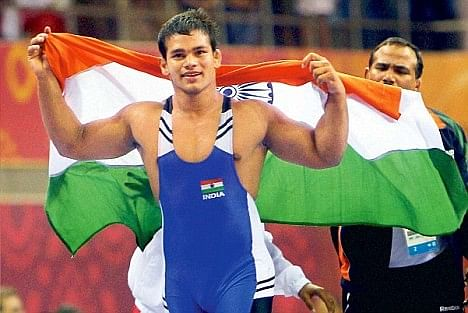 Medal-winning wrestler and policeman: Interview with Championship Bronze winner Narsingh Yadav