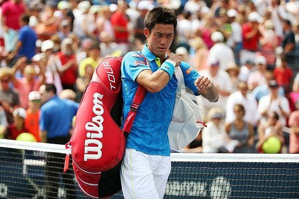 2014 runner-up Kei Nishikori crashes out of US Open
