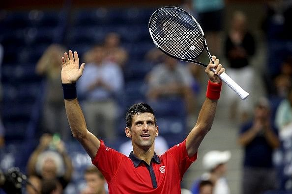 Video: Novak Djokovic dances with fan at US Open