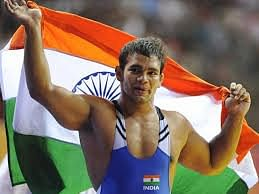 Narsingh wins bronze at World Wrestling Championship in spectacular fashion