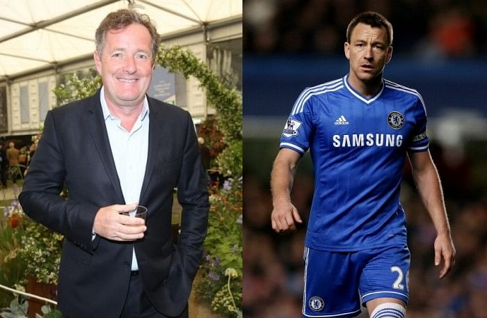 Piers Morgan tried to 'tap up' Chelsea captain John Terry for Arsenal