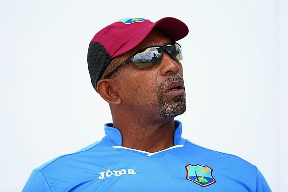 Phil Simmons suspended with immediate effect; Eldine Baptiste appointed interim coach