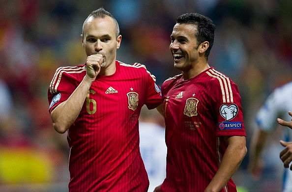 Highlights: Spain beat Slovakia 2-0 to move top of group in Euro 2016 qualifiers