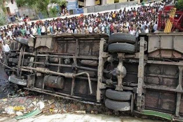 9 kabaddi players killed, 15 injured in vehicle accident in Odisha