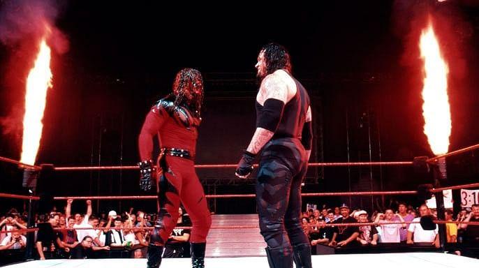 Wwe wrestling undertaker vs kane