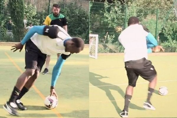 Video: Usain Bolt takes the Dizzy Goals challenge in fastest attempt ever