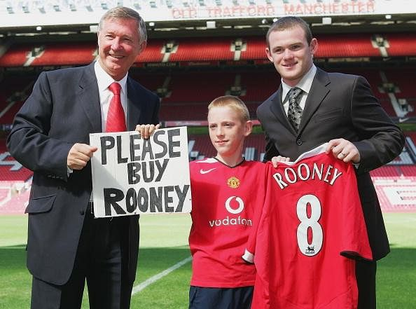 Sir Alex Ferguson claims Wayne Rooney rejected Manchester United transfer twice