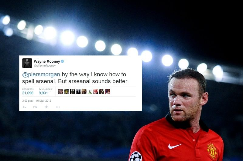 Wayne Rooney's old tweets will make your day.. and also your night