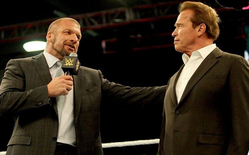 Arnold Schwarzenegger talks Brock Lesnar and his favorite WWE wrestlers