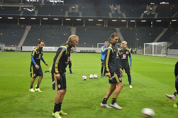 Video: Zlatan Ibrahimovic's stunning goal in Sweden training