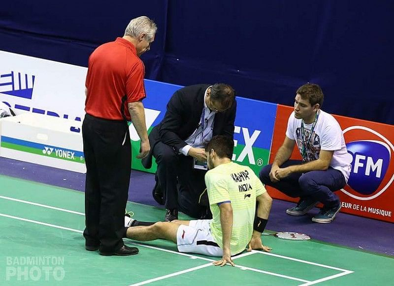 Indian ace shuttler Parupalli Kashyap out for 2 months with calf injury