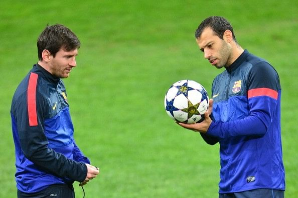 Lionel Messi reveals Mascherano's 'crazy days' and his leadership qualities